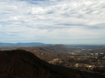 View from Mount Roosevelt