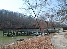 Fishing Pier at Roane County Park